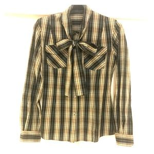 Dolce and Gabbana plaid shirt